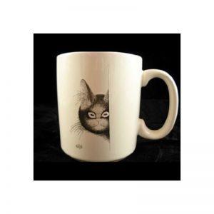 Mug les chats par dubout les yeux doux