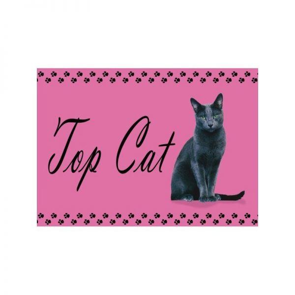 Set de table top cat chat noir