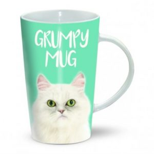 Tasse chat grincheux