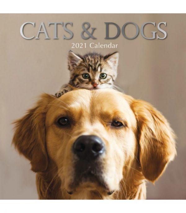 Calendrier chats et chiens 2021